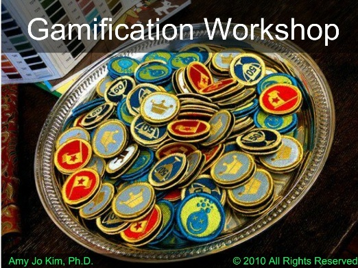 gamification workshop Gamification Workshop di Amo Jo Kim