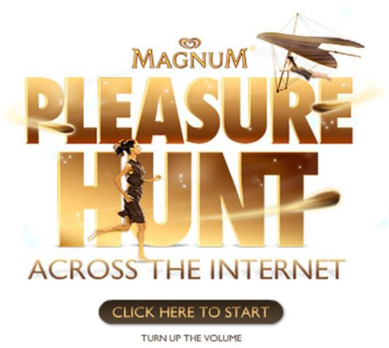 Magnum PleasureHunt Advertising Gamification