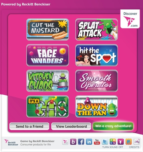 crazieRBrands Games for Brands   Il caso di Reckitt Benckiser