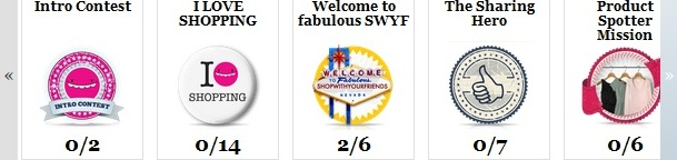 SWYF badge Gamification dellEntertainment Shopping