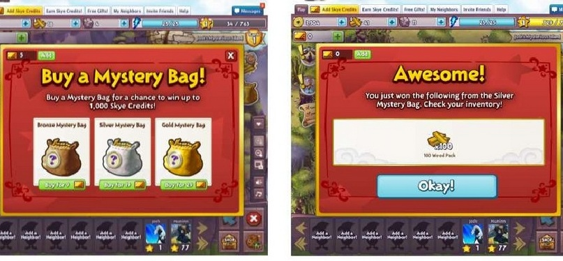 mysteryBag Game Design: 5 Social Game mechanics