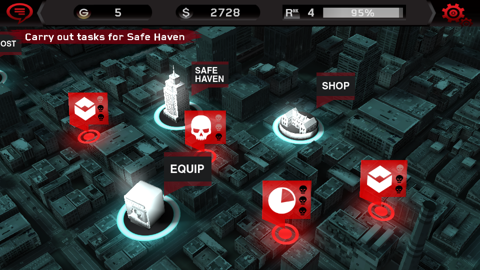 Dead Trigger map Motivational Design Framework: Motivare Utenti Regolari Parte 4