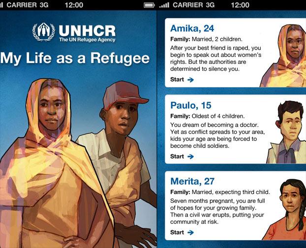 my life as a refugee Gamification per il terzo settore e no profit