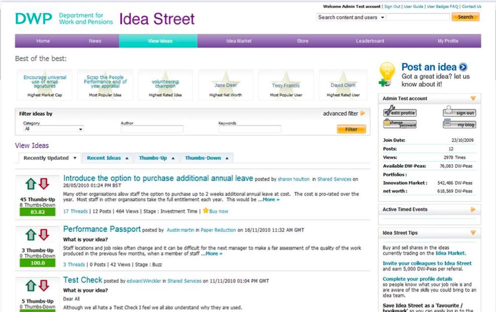 IdeaStreet-enterprise-gamification