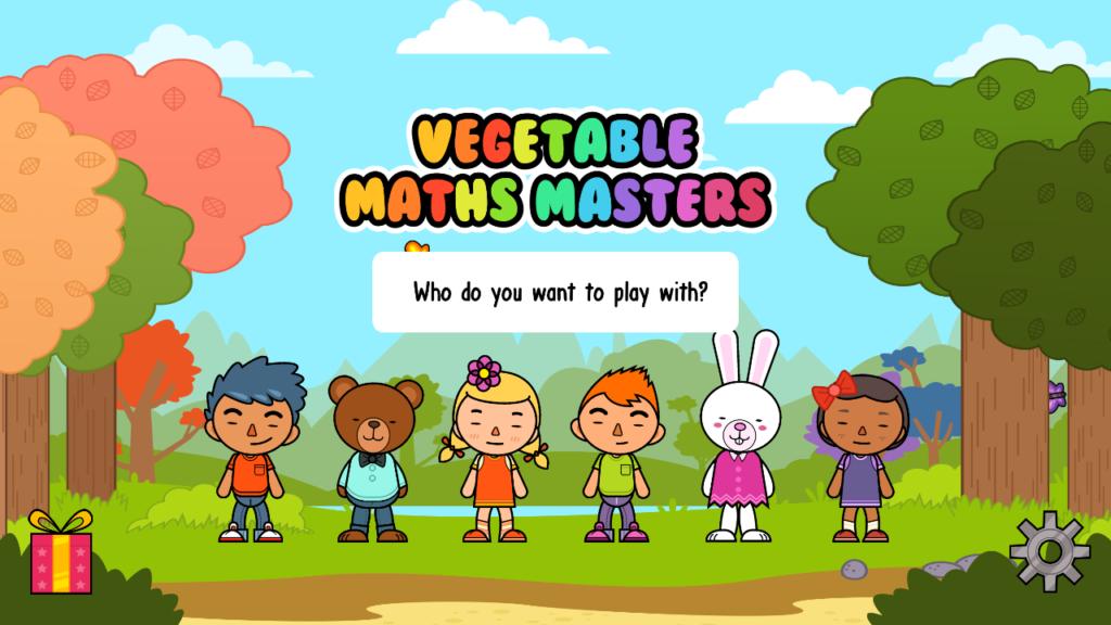 vegetable math masters