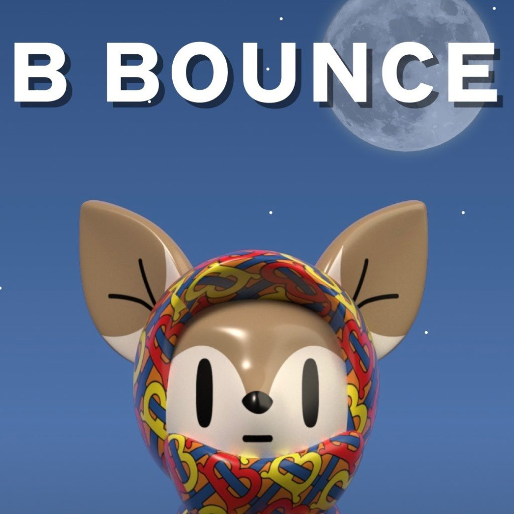 B-Bounce gamification burberry