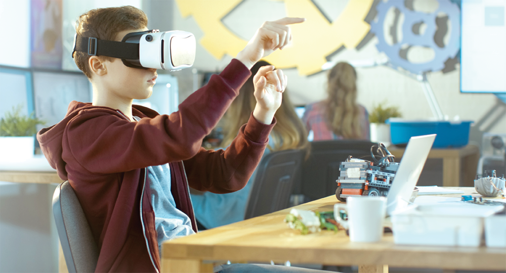 virtual reality learning