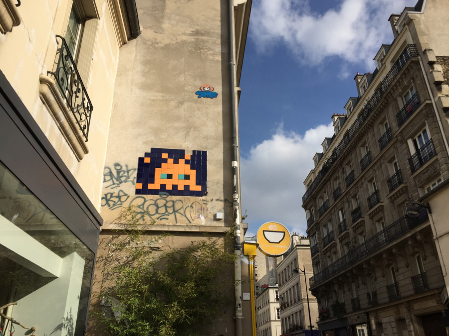 flash invaders augmented reality